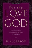 For the Love of God (Vol 2) eBook
