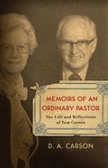 Memoirs of An Ordinary Pastor eBook