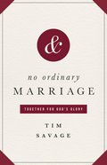 No Ordinary Marriage eBook