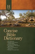 Holman Concise Bible Dictionary eBook