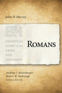 Romans (Exegetical Guide To The Greek New Testament Series) eBook