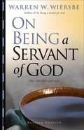 On Being a Servant of God eBook