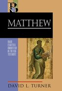 Matthew (Baker Exegetical Commentary On The New Testament Series) eBook