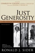 Just Generosity (2nd Edition) eBook
