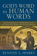 God's Word in Human Words eBook