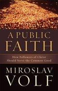 A Public Faith eBook