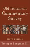Old Testament Commentary Survey (5th Edition)