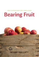 Bearing Fruit eBook