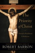 The Priority of Christ eBook