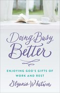 Doing Busy Better eBook