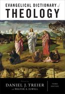 Evangelical Dictionary of Theology (Baker Reference Library Series)