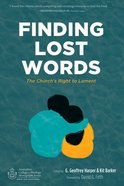 Finding Lost Words eBook