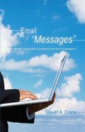 "Email ""Messages"": A Minister Responds to Questions From His Congregation eBook"