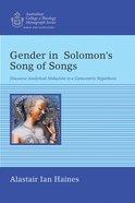 Gender in Solomon??S Song of Songs eBook