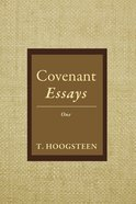Covenant Essays eBook