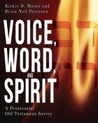 Voice, Word, and Spirit eBook