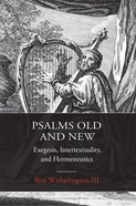 Psalms Old and New eBook