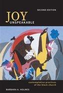 Joy Unspeakable eBook