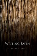 Writing Faith eBook