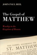 The Gospel of Matthew eBook