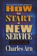 How to Start a New Service eBook