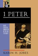 1 Peter (Baker Exegetical Commentary On The New Testament Series)