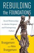 Rebuilding the Foundations eBook