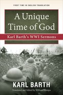 A Unique Time of God eBook