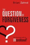 The Question of Forgiveness eBook