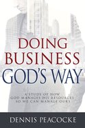 Doing Business God's Way eBook