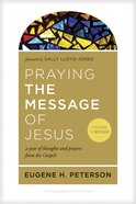 Praying the Message of Jesus eBook