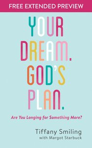 Your Dream. Gods Plan. (Free Extended Preview)