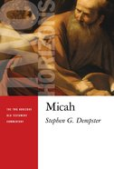 Micah (Two Horizons Old Testament Commentary Series) Paperback