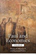 Paul and Economics Paperback