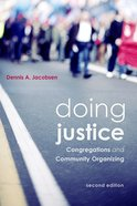 Doing Justice: Congregations and Community Organizing Paperback