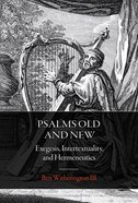 Psalms Old and New Paperback