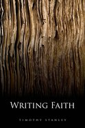 Writing Faith Hardback
