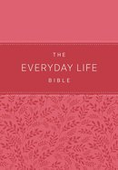 Amp Everyday Life Bible, the Pink