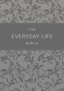 Amp Everyday Life Bible, the Gray