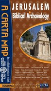 Carta Map: Jerusalem: Biblical Archaeology Chart/card
