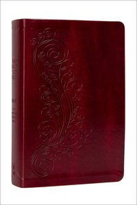 NASB New Inductive Study Bible Milano Burgundy