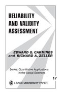 Reliability and Validity Asessment Paperback