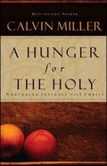 A Hunger For the Holy Paperback