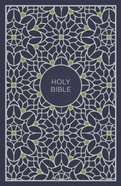 NKJV Thinline Bible Compact Blue/Green (Red Letter Edition) Hardback