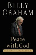 Peace With God; the Secret of Happiness