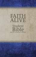 ESV Faith Alive Student Bible Blue/Tan (Lutheran Edition) Imitation Leather
