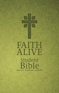 ESV Faith Alive Student Bible Green With Cross (Lutheran Edition) Imitation Leather