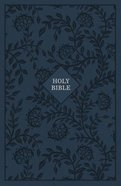 KJV Reference Bible Giant Print Blue (Red Letter Edition)