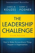 The Leadership Challenge (Sixth Edition) Hardback