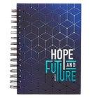 Spiral Journal: Graduation, Hope & Future Navy/Light Blue (Jer 29:11)